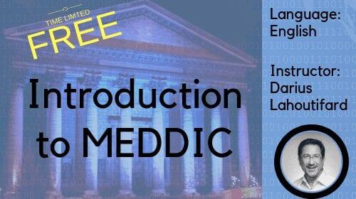 Free MEDDIC Sales Course